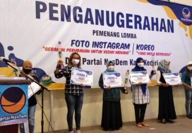 Setelah Sukses Berikan Anugrah Pemenang Lomba Foto dan Koreo, Partai Nasdem Akan Berikan Tantangan Kaum Muda Untuk Berkreasi Pada Event Lanjutan