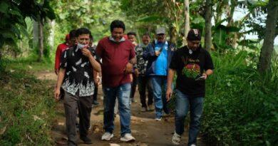 Jelang Hari Jadi Kediri, Tim Perumus DK4 Beserta Dinas Pariwisata dan Kebudayaan Napak Tilas Prasasti Harinjing